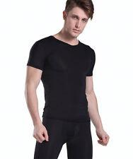 T-shirt maillot corps Noir plum Taille L  très doux transparent sexy Ref P40