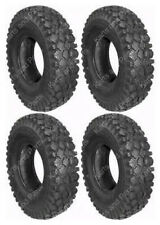 (4) 4.10 x 3.50 - 5 Go-Kart Cart GoKart GoCart MiniBike Mini-Bike Tires