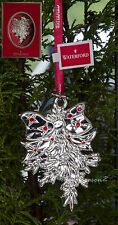 Waterford Ornamenti D'Argento 2013 Vischio Christmas tree bauble