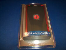 Rocketfish mobile Snap-On Soft Touch Cover for the Droid X by Motorola - RED