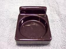 Porcelain Glass holder, Antique,Black