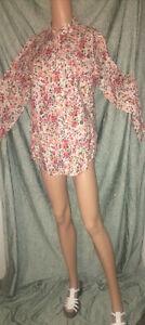Liz Claiborne New York size large Floral button up shirt
