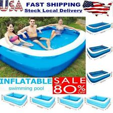 Large Family Swimming Pool Thick Inflatable Kid Fun Outdoors Adult Children Pool