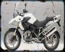 Bmw R1200Gs 11 2 A4 Photo Print Motorbike Vintage Aged