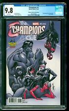 Champions 1 CGC 9.8 NM/M Miles Morales Kamala Khan Nova Midtown Comics Variant