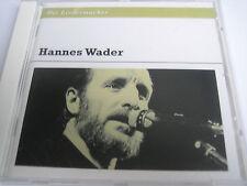 HANNES WADER - DIE LIEDERMACHER - CD - NEU - NUR OHNE FOLIE !!!