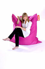 Pink Hippo XXL Adult Bean Bag Water Resistant Beanbag Lounger Gamer Outdoor