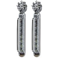 2 X Daytime Running Lights (Uses Wind Power) Auto DRL Lamp Driving Diurnal O4W4