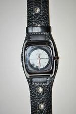 Quadratische Armbanduhren mit Kunstleder-Armband für Erwachsene