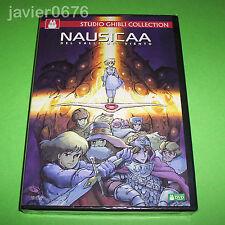 NAUSICAA DEL VALLE DEL VIENTO STUDIO GHIBLI DVD NUEVO Y PRECINTADO