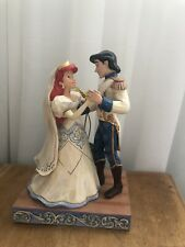 Disney Traditions Ariel And Eric The Little Mermaid Bride Wedding Figurine