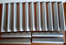 """Aluminum Lap Siding Corners (50) White Smooth Old Stock Never Installed 12"""""""