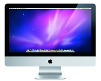 "Apple iMac A1311 MC978LL/A 21.5"" All-in-One Intel Core 3.1GHz 4GB RAM 250GB HDD"