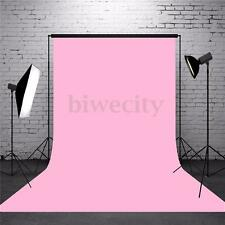 5x7ft Pure Pink Big Photography Background Cloth Backdrop Props For Studio