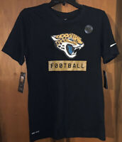 NWT Men's Nike Jacksonville Jaguars NFL Dri-fit T-shirt. Sz Small & Black.