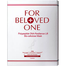 [FOR BELOVED ONE] Polypeptide DNA Resilience Lift Bio-Cellulose Facial Mask 3pcs