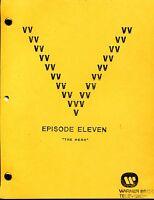"V Visitor Script - Ep. Eleven  [11] - ""The Hero"" - Final Draft"