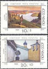 Russia 1990 N K Rerikh/Artists/Painters/Art/Culture Fund 2v set (n43759)