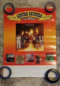 lynyrd skynyrd original record store promotion poster. 1 of 2