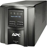 NEW! Apc By Schneider Electric Smart-Ups Line-Interactive Ups 750 Va/500 W 3 Hou
