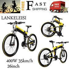 400W 26 '' Opvouwbare Elektrische Fiets E-Bike Electric Bicycle E-Bike Y3D4