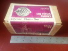 Christo Chess Set Model Kit Project for Edelstaal Unimat Atlas Sherline Lathe