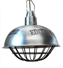 Pendant Dock Light Fixture Big Industrial Style Factory Lamp Vintage Replica