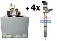 4x Injektor 03L130277B + Hochdruckpumpe 03L130755AL VW 1.6 TDI CAY Motoren