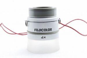 【Exc++】Fuji Fujicolor 4x Loupe Lupe #F7199