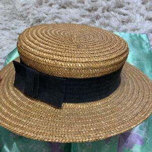Vivienne Westwood Straw Hat Vintage Fashion Goods item from japanese K10560