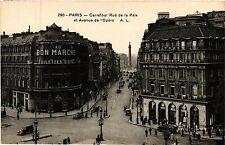 CPA PARIS 2e-Carrefour Rue de la Paix et Avenue de l'Opéra (322012)