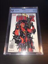 Hulk #16 CBCS 8.0 Newsstand Variant Red She-Hulk Deadpool Punisher X-Force CGC