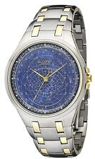 Accurist Celestial Timepiece Men's Blue Dial Bracelet Watch GMT117USA