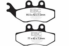 FIT SACHS Also see SFM section ZX 125 Enduro 01>02 EBC FRONT ORGANIC BRAKE PADS