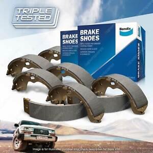 8Pcs Bendix Brake Shoes Set for Holden E Series EH 2.5 2.9 EJ 2.3 RWD