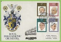 G.B. 1980 Composers set on Stamp Publicity R.P.O. First Day Cover, London SE