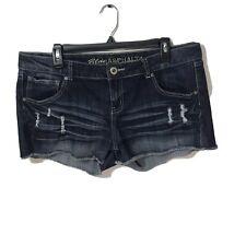 Blue Asphalt Women's Size 15 Distressed Cut Off Shorts