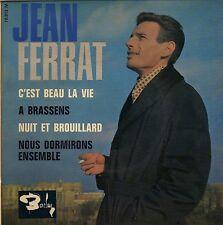 JEAN FERRAT C'EST BEAU LA VIE FRENCH ORIG EP ALAIN GORAGUER