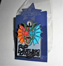 Dueling Dragons Roller Coaster Universal Studios Lights Up Pin Trading LE 500