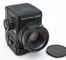 Rolleiflex 6002 6x6 Mittelformatkamera. 2,8/80mm Objektiv. OVP. Zubehör. Wie neu