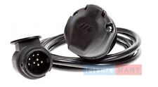 13 Pin Fully wired Caravan 3m extension lead 13 pin plug & 13 pin flying socket