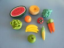 BARBIE KITCHEN LITTLES FRUITS & VEGETABLES PLUS *BONUS*