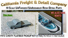 California Freight & Details 1973 Chevy Flatbed Pickup Kit N/1:160