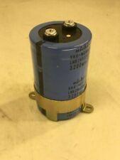Nichicon Capacitor, BK0-NC1043 H20, LNR2V322ASMAMG, 3200MFD 350WV, Used