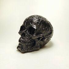 Celtic skull hood ornament (car radiator mascot)