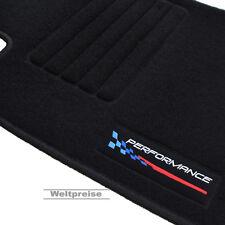 Apogée velour tapis de sol pour BMW 1er e87 5-türig à partir de Bj 09/2004 - aujourd'hui Logo