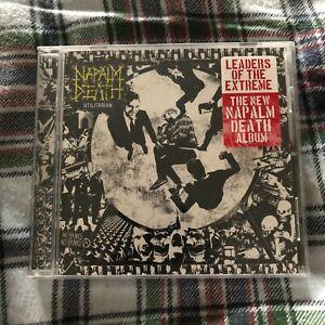 Napalm Death - Utilitarian CD NM- Carcass Killing Joke