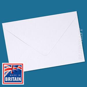 30 pack x C5 White Premium Gummed Envelopes for Wedding Invitations