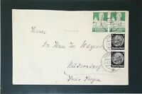 Germany B61 Pair On Cover - Z3279