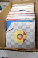 Lot of 86 Rock & Import 45rpm Vinyl Records Full Artist List in Desc 1029ELDB